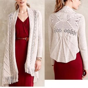 Anthropologie Angel of the North Anais Cardigan